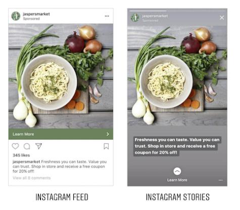 instagram story hirdetések